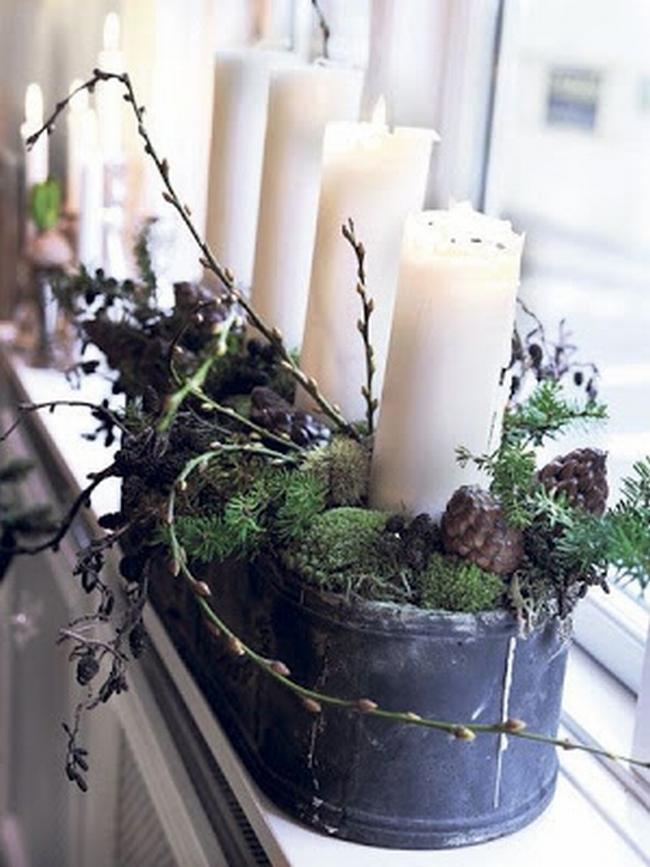 Dekoracje świąteczne - 15 najprostszych pomysłów świątecznych dekoracji 209