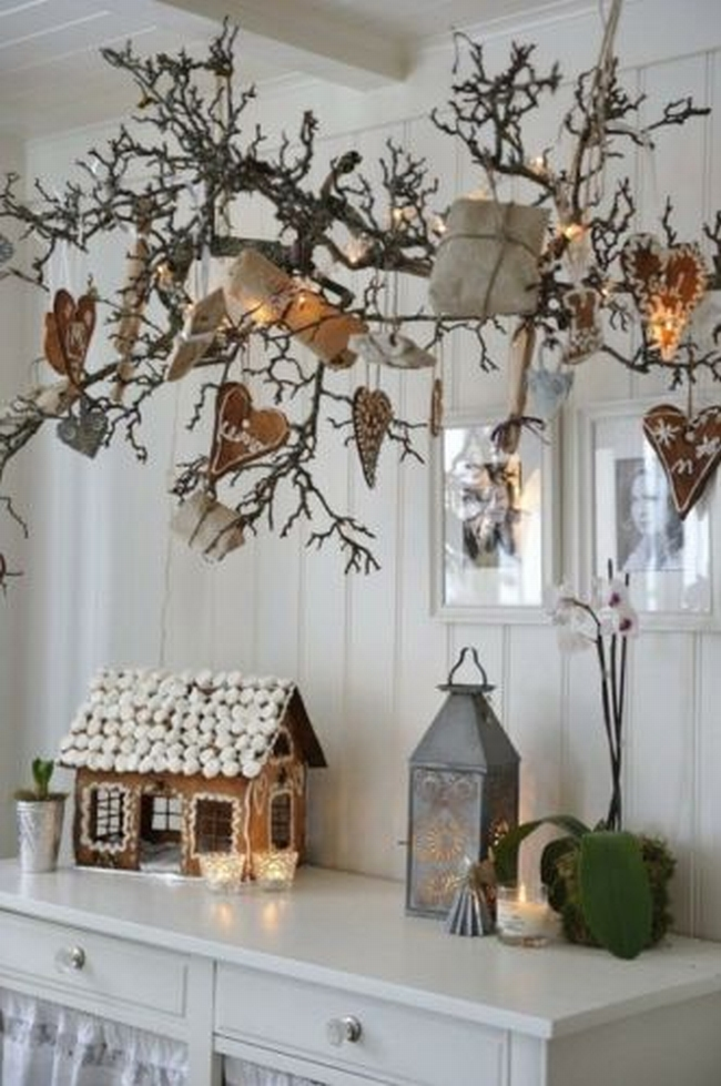 Dekoracje świąteczne - 15 najprostszych pomysłów świątecznych dekoracji 223