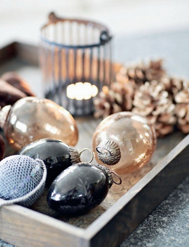 Dekoracje świąteczne - 15 najprostszych pomysłów świątecznych dekoracji 237