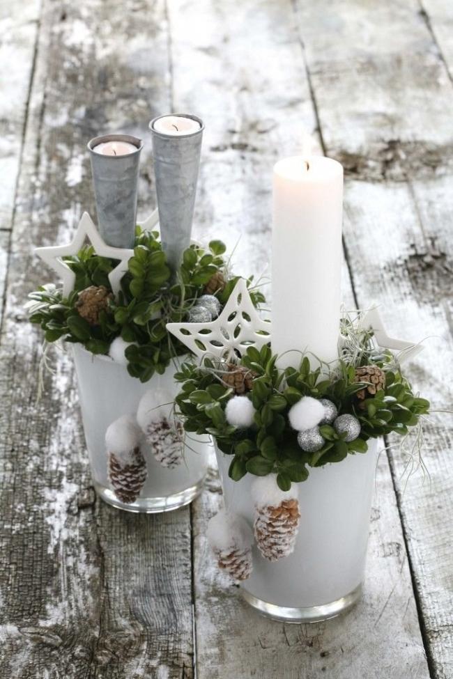 Dekoracje świąteczne - 15 najprostszych pomysłów świątecznych dekoracji 251