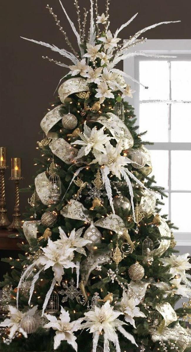Dekorowanie domu na święta - choinka stół wigilijny dekoracje świąteczne 02