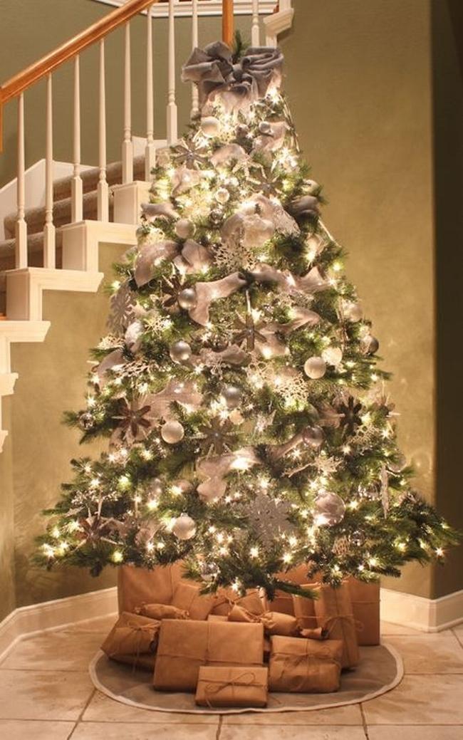 Dekorowanie domu na święta - choinka stół wigilijny dekoracje świąteczne 04