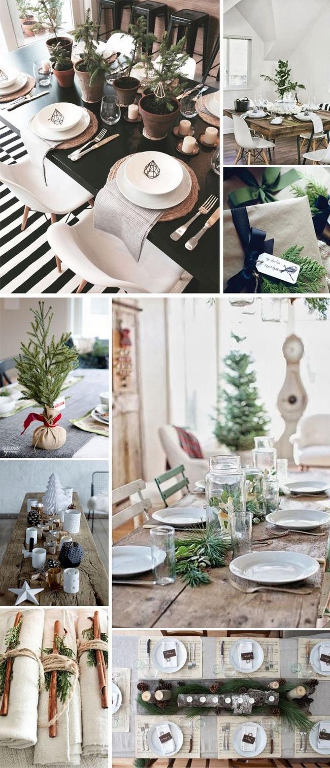 Dekorowanie domu na święta - choinka stół wigilijny dekoracje świąteczne 07