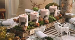 Dekorowanie domu na święta - choinka stół wigilijny dekoracje świąteczne 09