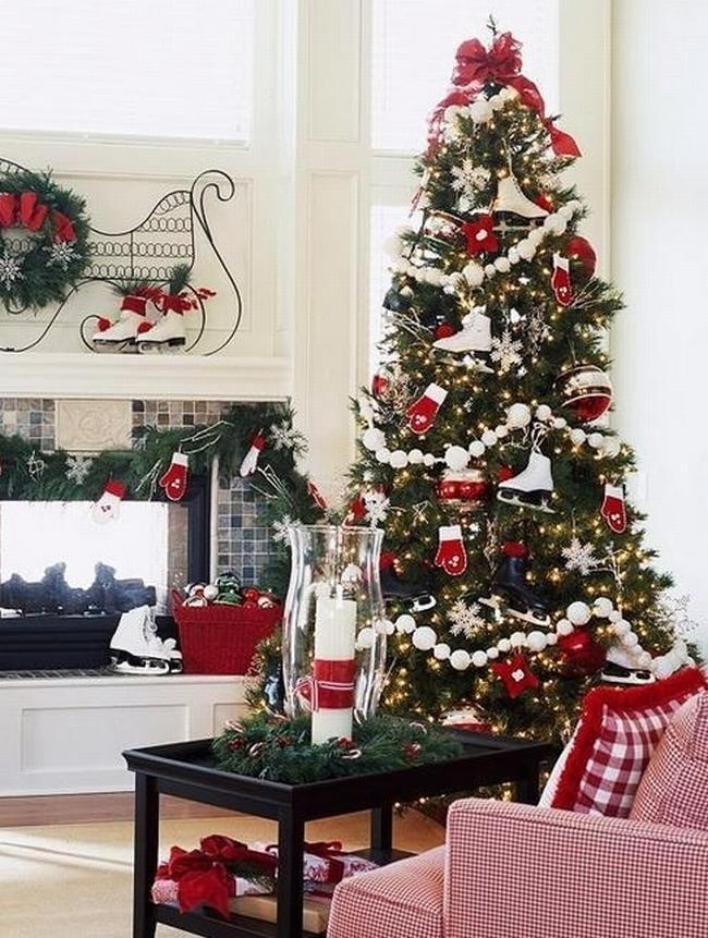 Dekorowanie domu na święta - choinka stół wigilijny dekoracje świąteczne 10
