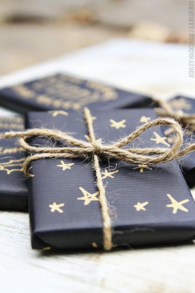 pakowanie prezentów na swięta prosto i modnie 01