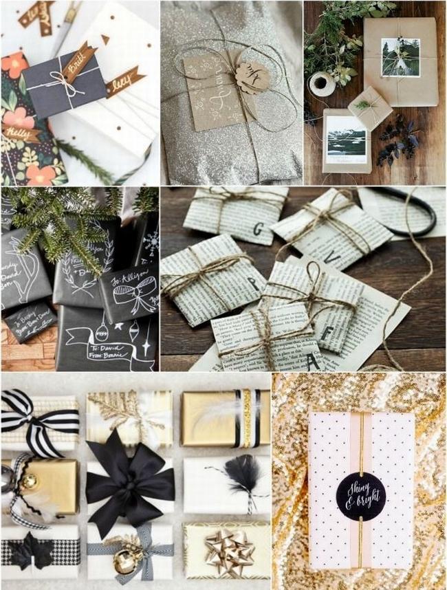 pakowanie prezentów na swięta prosto i modnie 1001