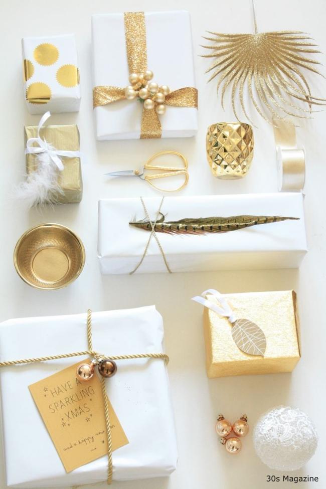 pakowanie prezentów na swięta prosto i modnie 101