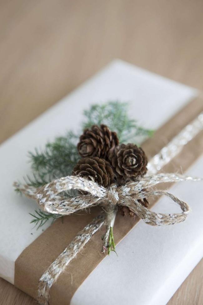 pakowanie prezentów na swięta prosto i modnie 1301