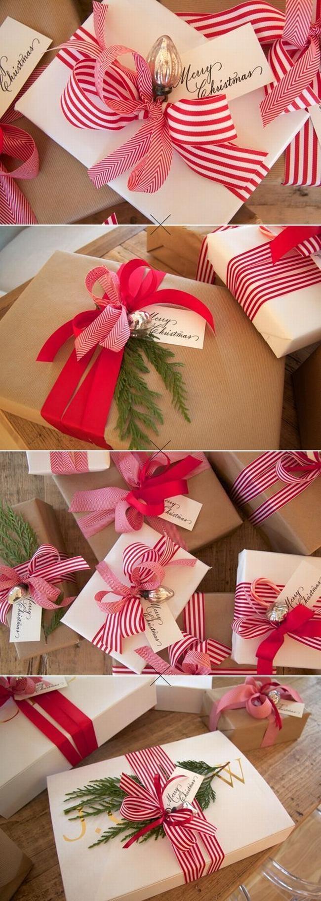 pakowanie prezentów na swięta prosto i modnie 1501