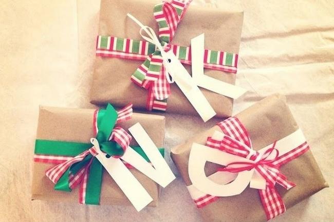 pakowanie prezentów na swięta prosto i modnie 1701