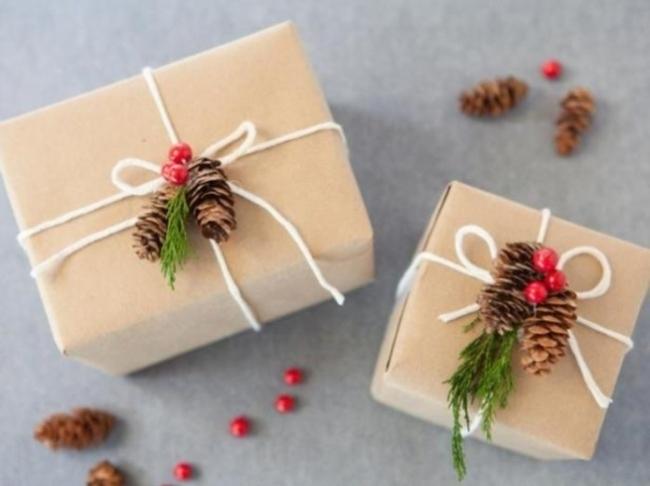 pakowanie prezentów na swięta prosto i modnie 1801