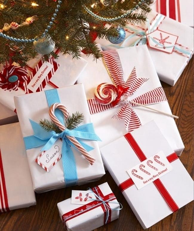 pakowanie prezentów na swięta prosto i modnie 1901