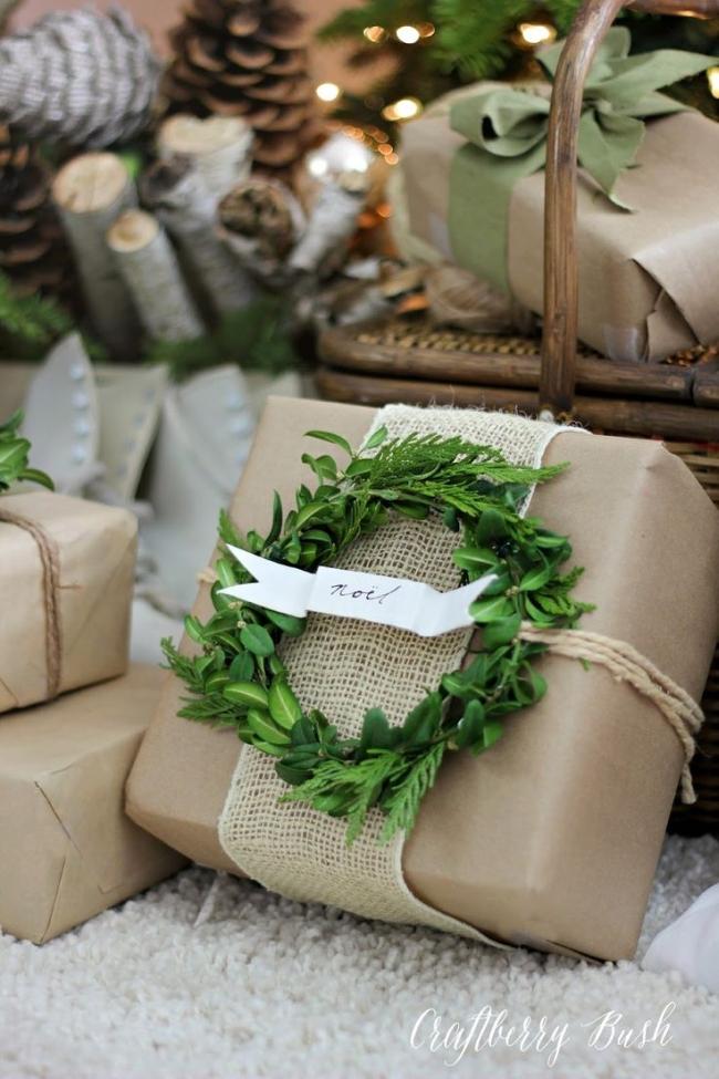 pakowanie prezentów na swięta prosto i modnie 201