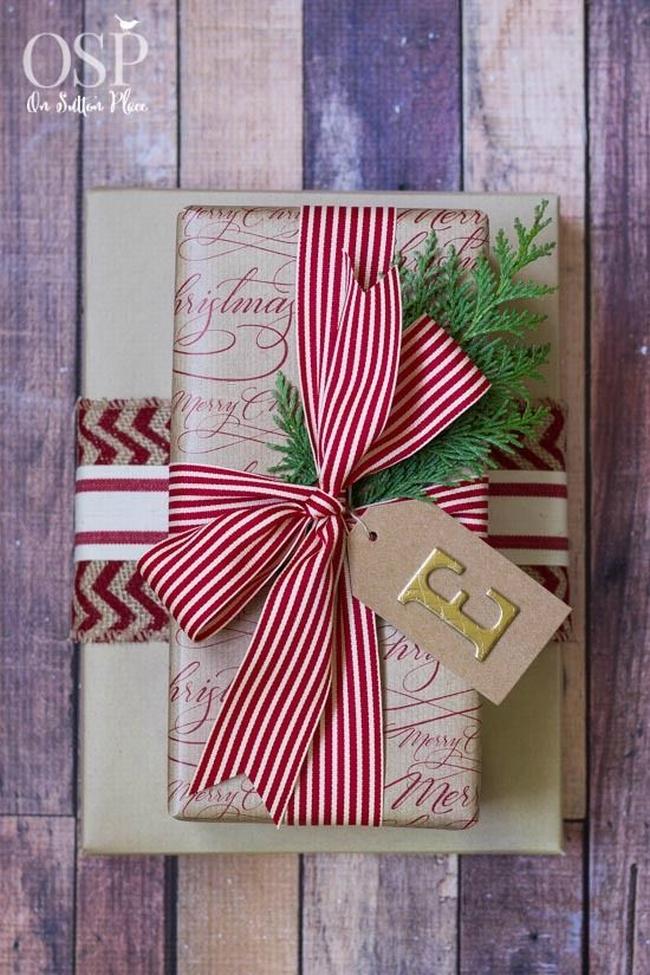 pakowanie prezentów na swięta prosto i modnie 301