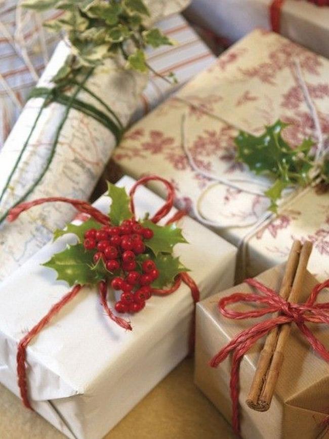 pakowanie prezentów na swięta prosto i modnie 501