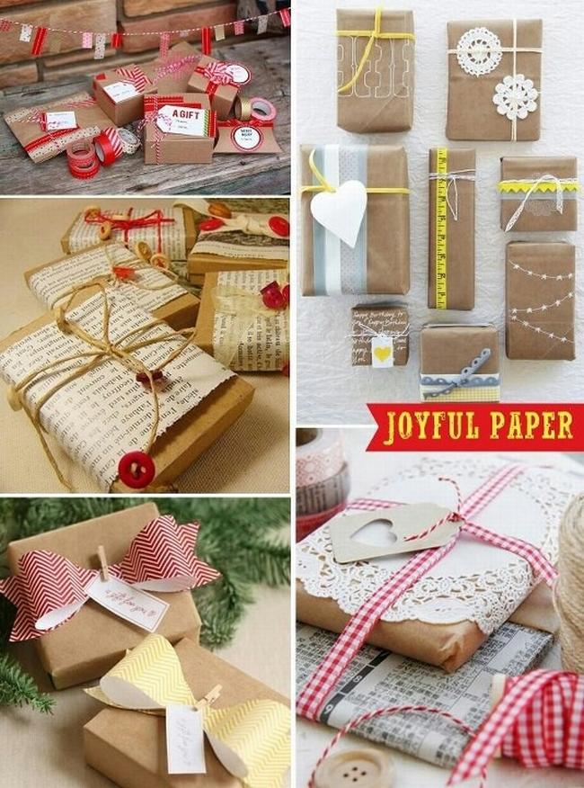pakowanie prezentów na swięta prosto i modnie 701