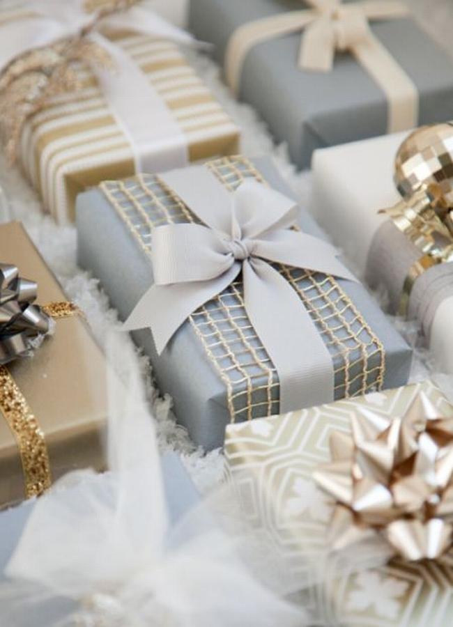 pakowanie prezentów na swięta prosto i modnie 901