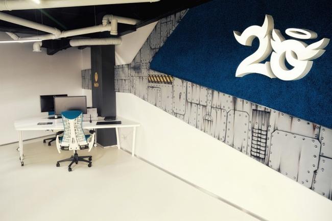 biuro wnętrze biurowe aranżacja biura biura wielkich korporacji inspiracje 10