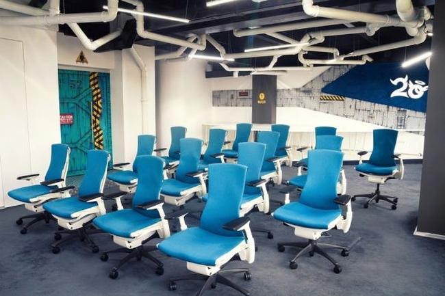 biuro wnętrze biurowe aranżacja biura biura wielkich korporacji inspiracje 15