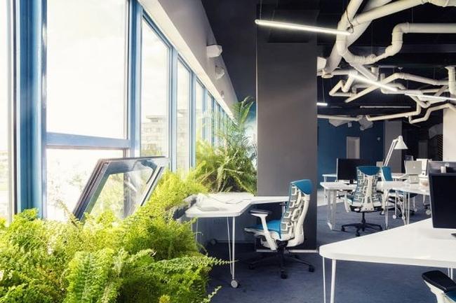biuro wnętrze biurowe aranżacja biura biura wielkich korporacji inspiracje 19