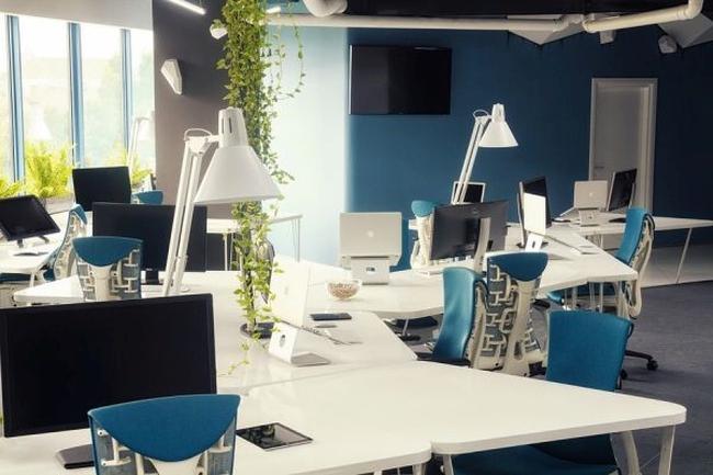 biuro wnętrze biurowe aranżacja biura biura wielkich korporacji inspiracje 20