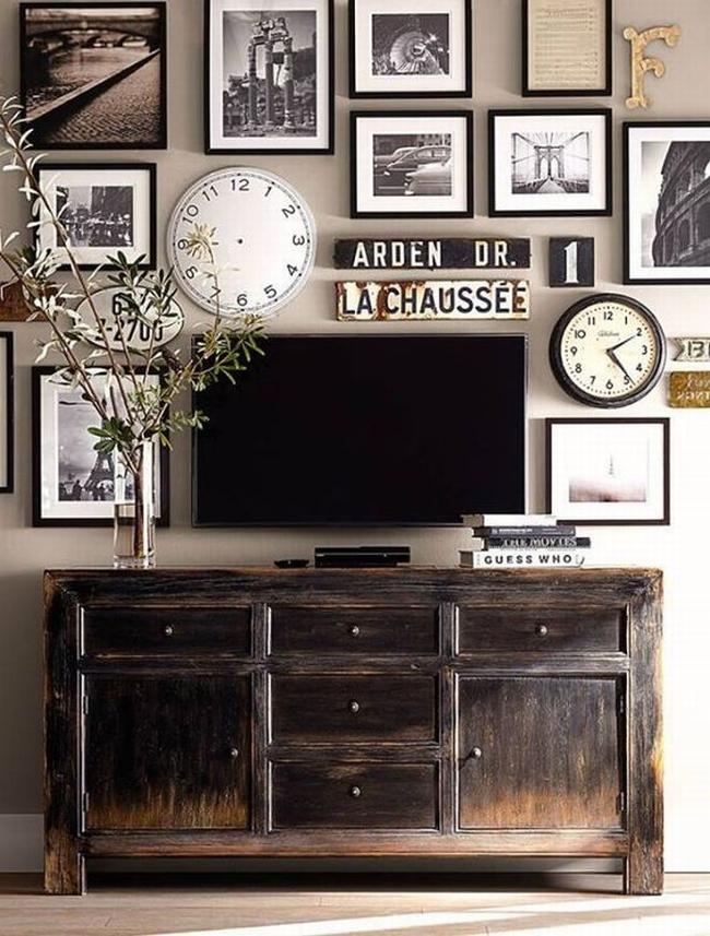 jak ukryć telewizor w salonie ukryty telewizor we wnętrzu w domu inspiracje design pomysły rozwiązania 15