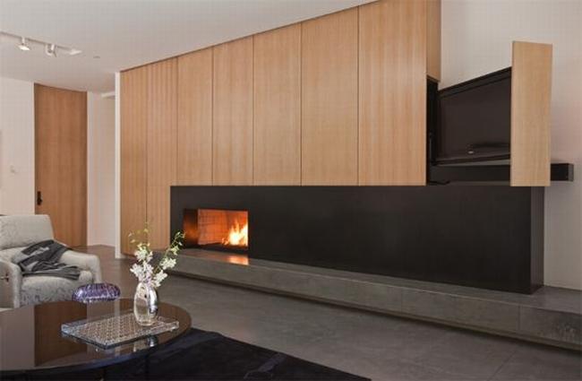 jak ukryć telewizor w salonie ukryty telewizor we wnętrzu w domu inspiracje design pomysły rozwiązania 18