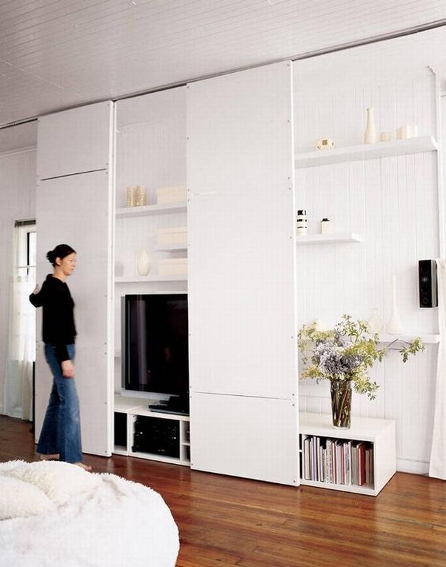 jak ukry telewizor w salonie ukryty telewizor we wn trzu w domu inspiracje design pomys y. Black Bedroom Furniture Sets. Home Design Ideas