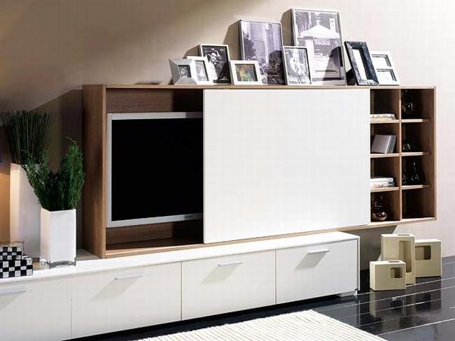 jak ukryć telewizor w salonie ukryty telewizor we wnętrzu w domu inspiracje design pomysły rozwiązania 52