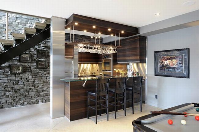 piwnica w amerykańskim domu inspiracje pomysły rozwiązania jak wygląda projekt piwnicy co się znajduje w amerykańskiej piwnicy projekt realizacje usa 25