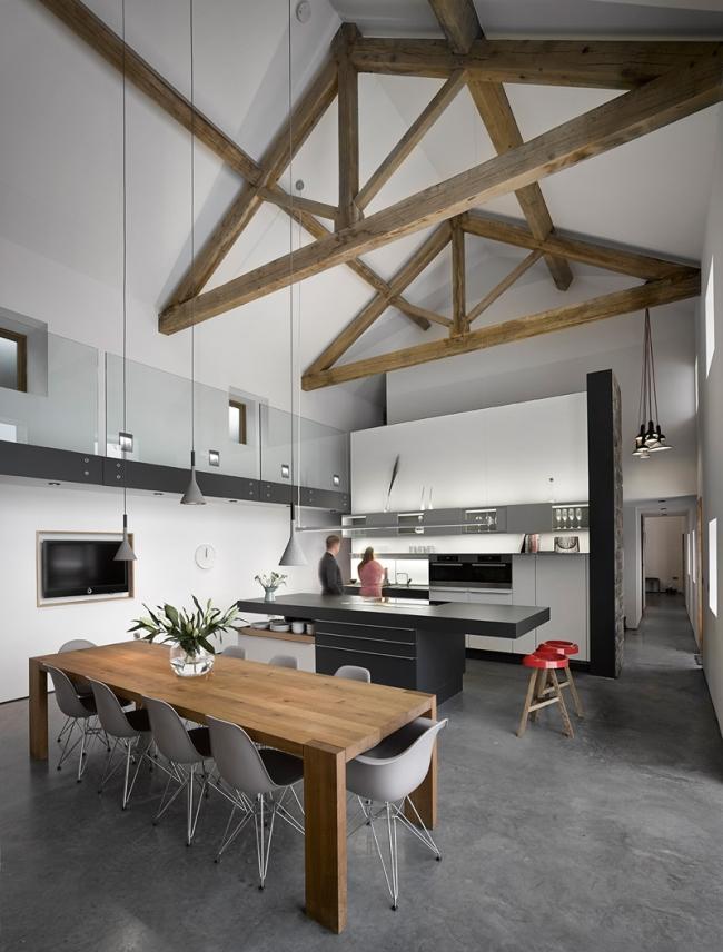 wspaniałe stodoły zamienione w domy nowoczesne stodoły mieszkalne renowacja stodoły cat hill barn Anglia 10