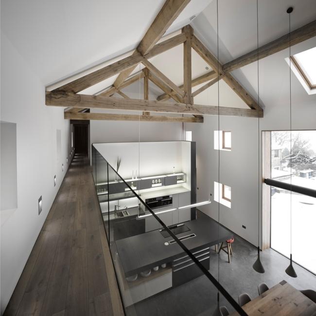 wspaniałe stodoły zamienione w domy nowoczesne stodoły mieszkalne renowacja stodoły cat hill barn Anglia 16