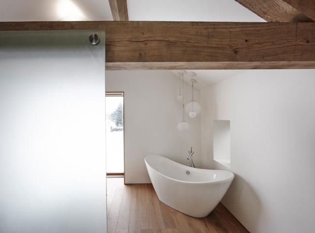 wspaniałe stodoły zamienione w domy nowoczesne stodoły mieszkalne renowacja stodoły cat hill barn Anglia 19