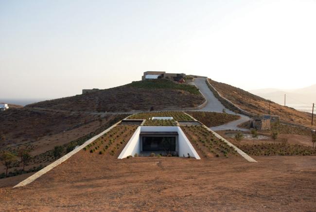 ziemianka mieszkalna - dom pod ziemią - nowoczesna ziemianka - 54