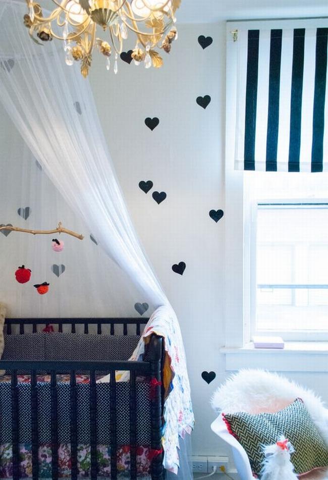 dekoracja pokoju dla niemowlaka inspiracje 12