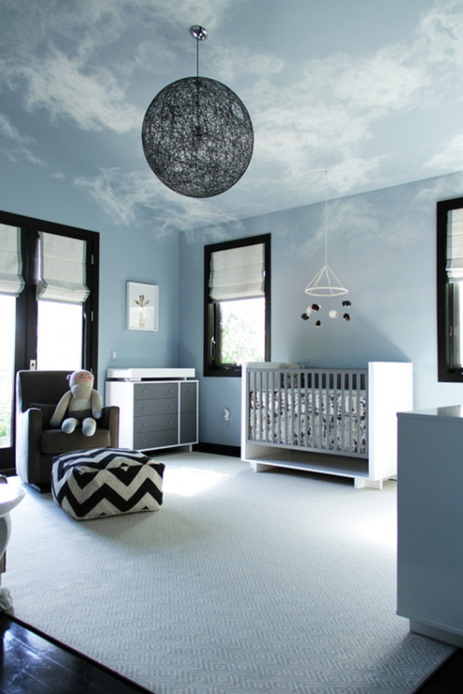dekoracja pokoju dla niemowlaka inspiracje 14