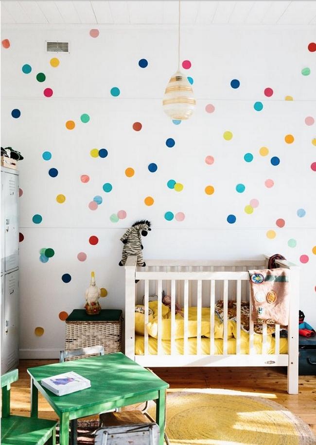 Dekoracja pokoju dla niemowlaka inspiracje pokoju dla - Decoracion infantil paredes ...