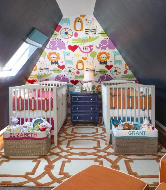 dekoracja pokoju dla niemowlaka inspiracje 21