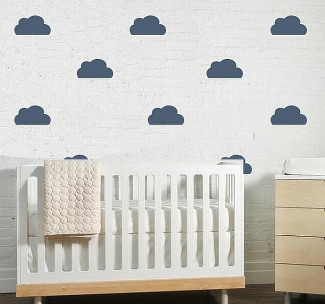 dekoracja pokoju dla niemowlaka inspiracje 31