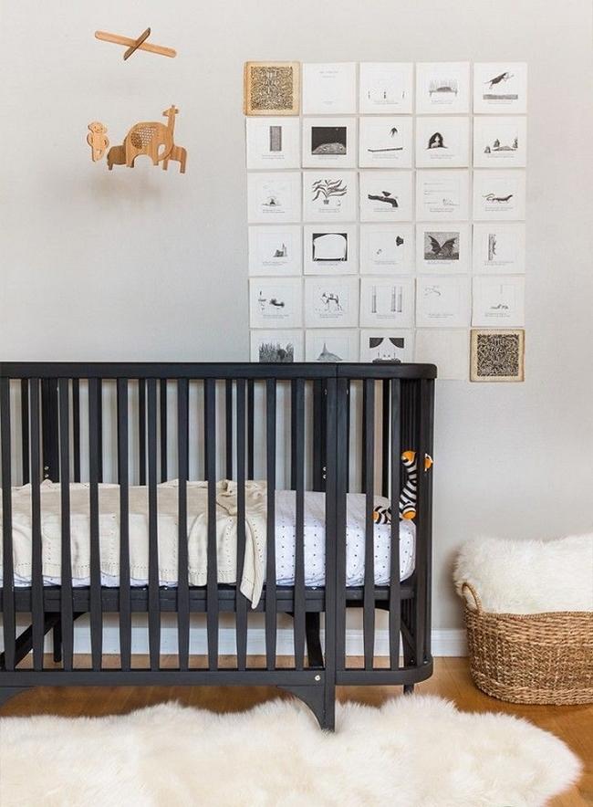 dekoracja pokoju dla niemowlaka inspiracje 35