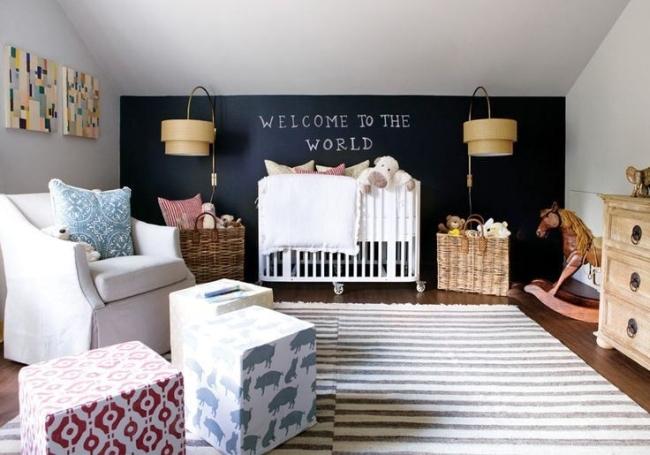 dekoracja pokoju dla niemowlaka inspiracje 50