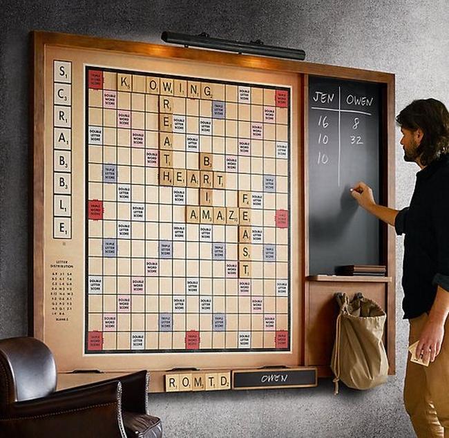 family room pokój rodzinny game room pokój gier amerykański dom amerykańskie wnętrze design 10
