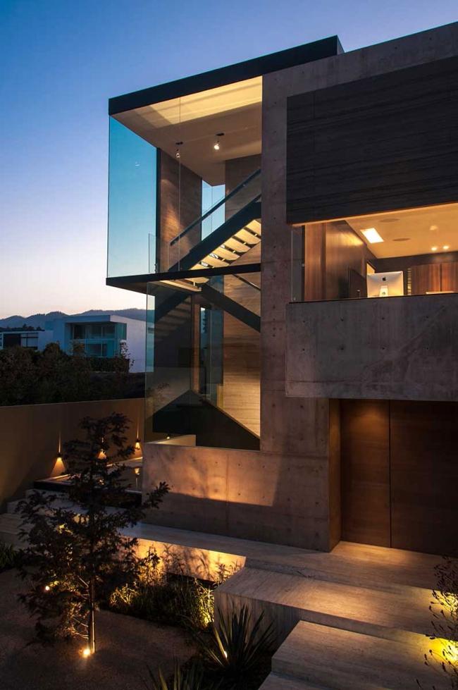 luksusowy nowoczesny dom nowoczesny projekt dom w kontekście willa marzeń 18