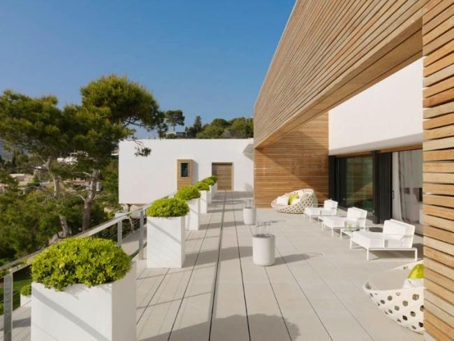 nowoczesna luksusowa rezydencja Almunecar inspiracje projekt design 02