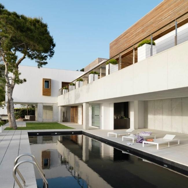 nowoczesna luksusowa rezydencja Almunecar inspiracje projekt design 06