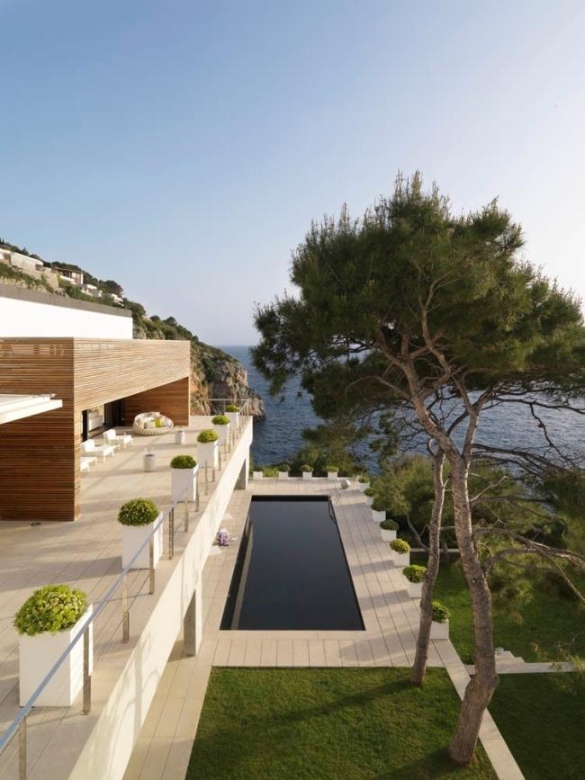 nowoczesna luksusowa rezydencja Almunecar inspiracje projekt design 07