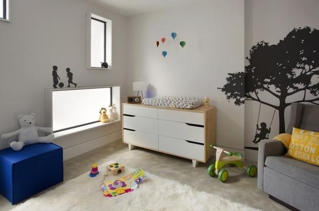 nowoczesny pokój dla niemowlaka aranżacje 10