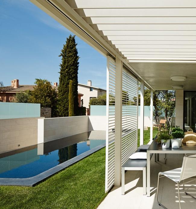 nowowczesny luksusowy dom igualada hiszpania projekt 05