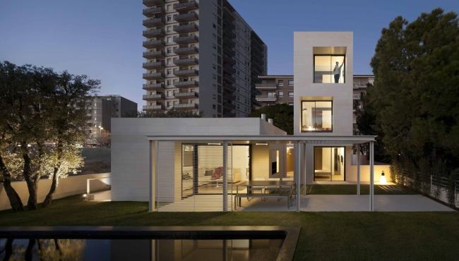 nowowczesny luksusowy dom igualada hiszpania projekt 10